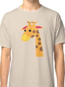 Cute Giraffe with a long neck  Classic T-Shirt