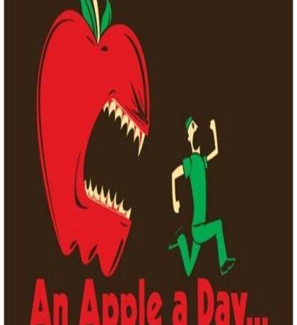 An Apple A Day... Sticker