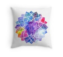 Chakra Sahasrara Throw Pillow