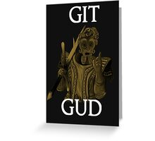 Git Gud. Greeting Card