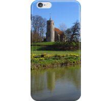 Church By The Lake, Aldham iPhone Case/Skin