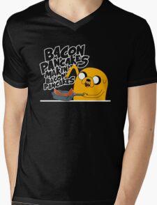 """Jake - Adventure Time """"pancakes"""" Mens V-Neck T-Shirt"""