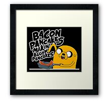 "Jake - Adventure Time ""pancakes"" Framed Print"