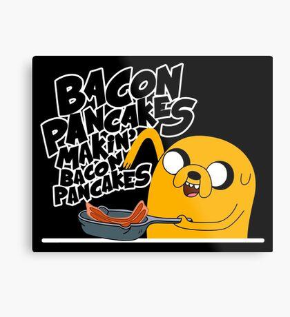 """Jake - Adventure Time """"pancakes"""" Metal Print"""