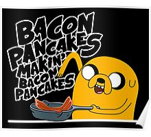 "Jake - Adventure Time ""pancakes"" Poster"