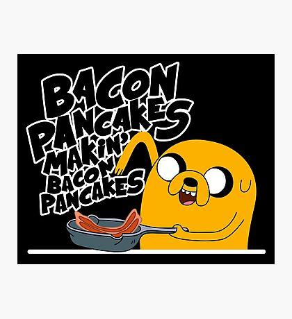"Jake - Adventure Time ""pancakes"" Photographic Print"
