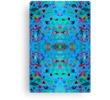 Psychedelia easter Canvas Print