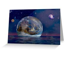 Venus Rising Greeting Card