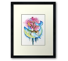 Nature Whale Framed Print