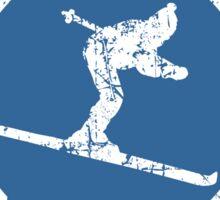 Après-Ski Instructor Seal Vintage White Sticker
