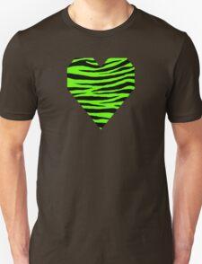 0064 Bright Green Tiger Unisex T-Shirt