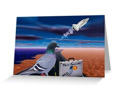 "☞ º°""˜`""°☜♥☞ PIGEON IMPOSSIBLE >PILLOW,PICTURE,TOTE BAG-VARIOUS APPAREL ☞ º°""˜`""°☜♥☞ Greeting Card"