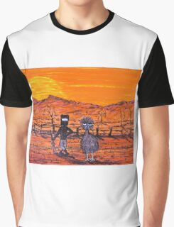 "ORIGINAL Acrylic  Australian Painting ""Ned Kelly's Mate""  EJCairns; SOLD Graphic T-Shirt"