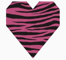 0071 Brilliant Rose or Magenta (Crayola) Tiger Kids Tee