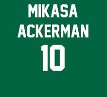 Attack On Titan Jerseys (Mikasa Ackerman) Unisex T-Shirt