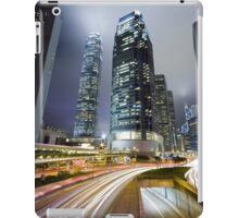 Night HK iPad Case/Skin