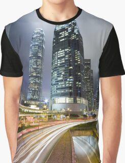 Night HK Graphic T-Shirt
