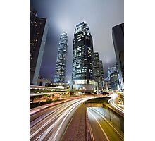 Night HK Photographic Print