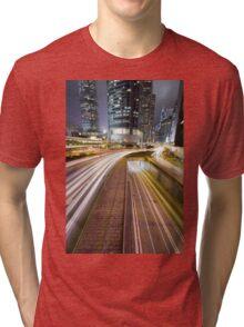 Tail Night Tri-blend T-Shirt