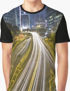 Night Way Graphic T-Shirt
