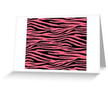 0072 Brink Pink Tiger Greeting Card