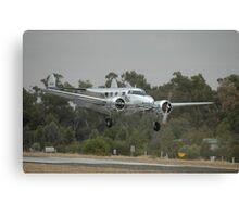 Electra Landing,Temora Airshow,Australia 2008 Canvas Print