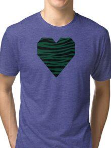 0073 British Racing Green Tri-blend T-Shirt