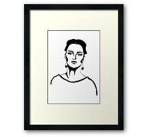 retrofashion Framed Print