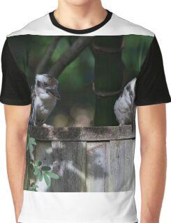 Brush Turkey Below Graphic T-Shirt