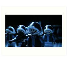 Lego Rebel Fleet Marines Art Print