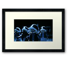 Lego Rebel Fleet Marines Framed Print
