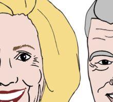 Bill & Hillary: Tag Team Back Again Sticker