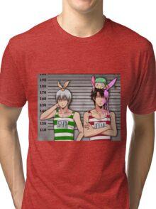 Anime Mugshot Tri-blend T-Shirt