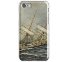 Antonio Jacobsen - Sailing Ship St. Mary iPhone Case/Skin