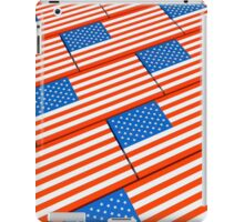 illustration US flag iPad Case/Skin