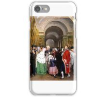 François Biard - Four O'Clock at the Salon  iPhone Case/Skin