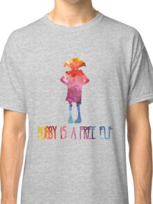 Dobby Is A Free Elf - Colourful Silhouette Classic T-Shirt