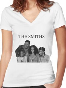 The Smiths - ONE:Print Women's Fitted V-Neck T-Shirt