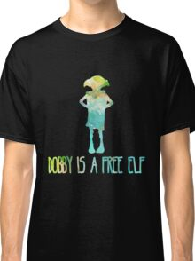 Dobby Is A Free Elf - Colourful Silhouette #2 Classic T-Shirt