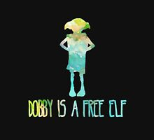 Dobby Is A Free Elf - Colourful Silhouette #2 Unisex T-Shirt
