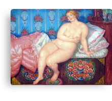 Boris Kustodiev - The Beauty  Canvas Print