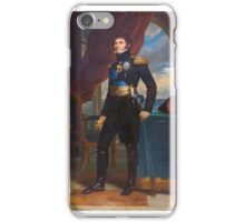 François Gérard - Charles XIV John as Crown Prince of Sweden  iPhone Case/Skin