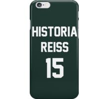 Attack On Titan Jerseys (Historia Reiss) iPhone Case/Skin