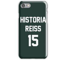 Attack On Titan Jerseys (Historia Reiss) iPhone Case/Skin