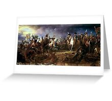 François Gerard - The Battle of Austerlitz Greeting Card