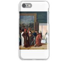 François-Henri Mulard - Napoléon Receiving the Ambassador of Persia at the Château de Finkenstein iPhone Case/Skin