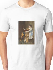 Briton Riviere - Reading Lesson Compulsory Education Unisex T-Shirt