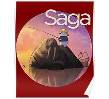Saga Comic Ghus Poster