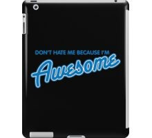 hate awesome iPad Case/Skin