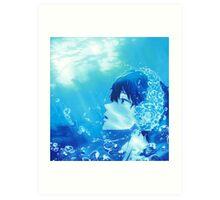 Free! - Haru Art Print